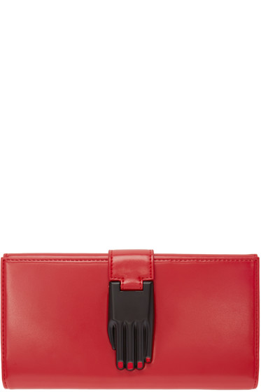 Opening Ceremony - Red Patent Leather Misha Wallet