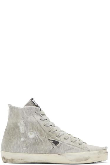 Golden Goose - Grey Francy High-Top Sneakers