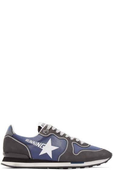 Golden Goose - Grey Running Sneakers