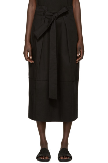 Damir Doma - Black Tie Waist Skirt