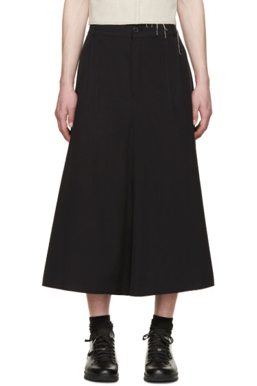 Damir Doma - Black Cropped Peregri Trousers