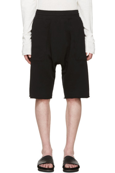 Damir Doma - Black Pumis Lounge Shorts