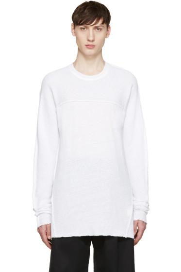 Damir Doma - White Tetis Kimono T-Shirt