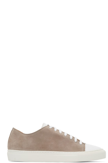Damir Doma - Taupe Suede Fulcia Sneakers