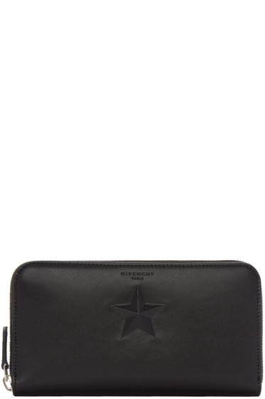 Givenchy - Black Star Long Pandora Wallet