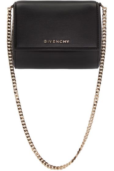 Givenchy - Black Minaudière Pandora Box Bag