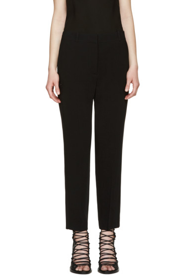 Givenchy - Black Tailored Star Trousers