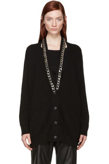 Givenchy - Black Knit Chain Cardigan