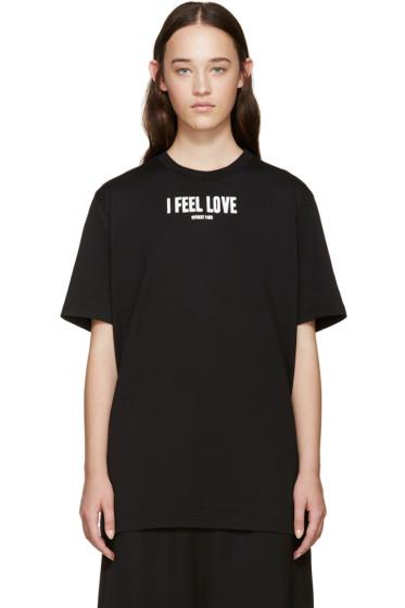 Givenchy - Black I Feel Love T-Shirt