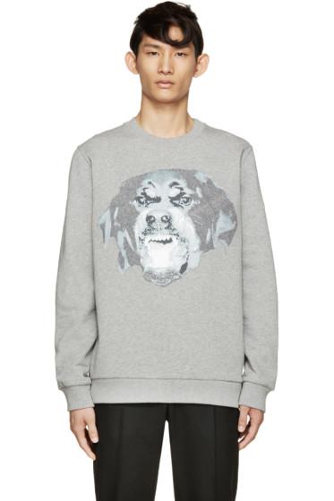 Givenchy - Grey Rottweiler Sweatshirt