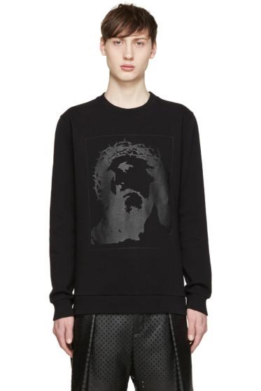 Givenchy - Black Tonal Jesus Sweatshirt