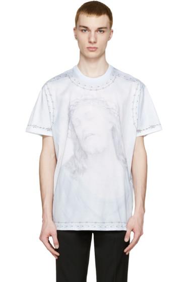 Givenchy - Blue Jesus T-Shirt