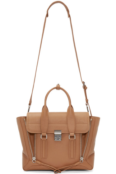 3.1 Phillip Lim - Tan Medium Pashli Satchel