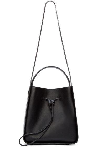 3.1 Phillip Lim - Black Leather Soleil Shoulder Bag