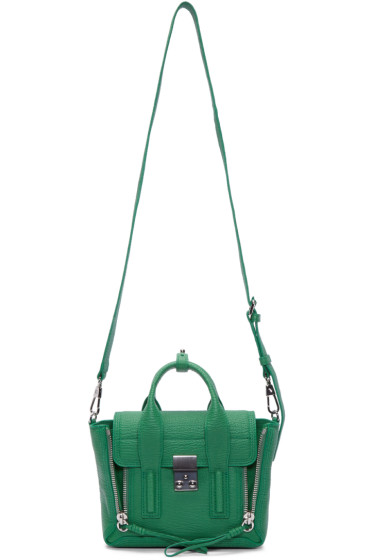 3.1 Phillip Lim - Green Mini Pashli Satchel