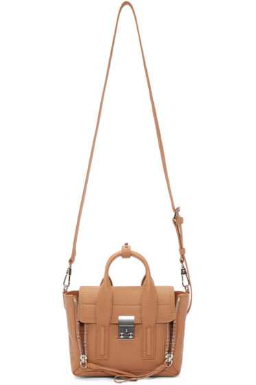 3.1 Phillip Lim - Tan Mini Pashli Satchel