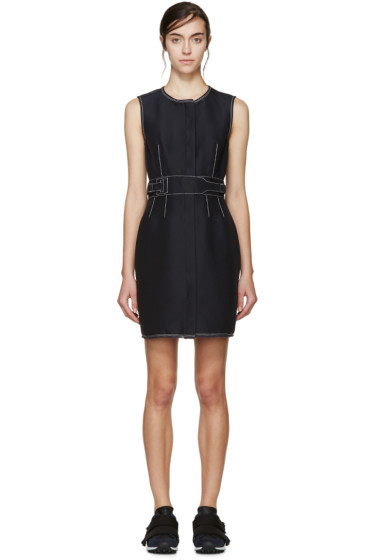 3.1 Phillip Lim - Navy Contrast Stitching Dress