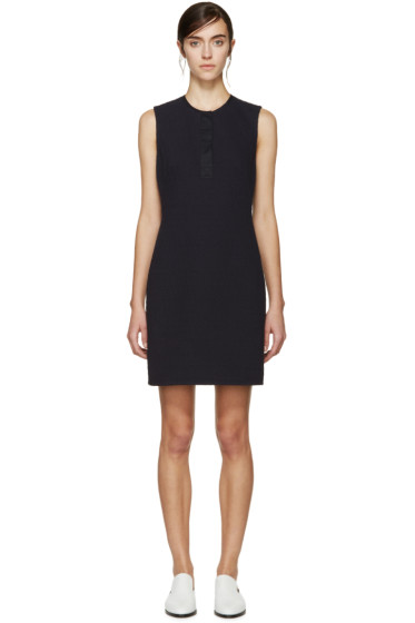 3.1 Phillip Lim - Navy Sleeveless Knit Dress
