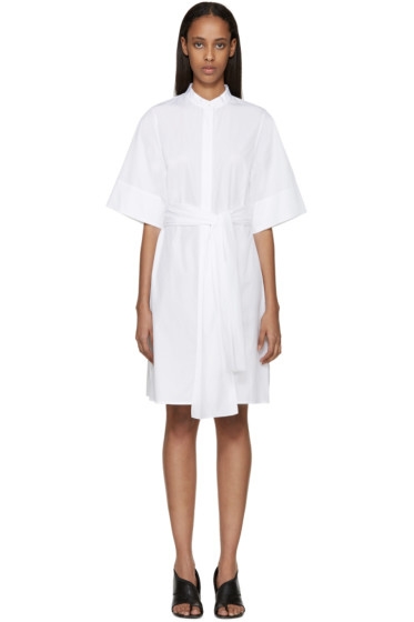 3.1 Phillip Lim - White Poplin Dress