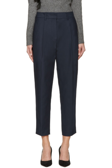 3.1 Phillip Lim - Navy Carrot Trousers
