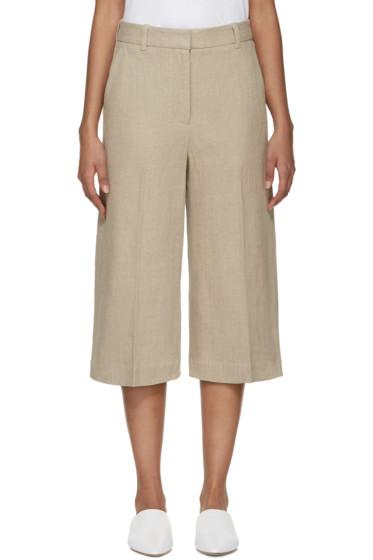 3.1 Phillip Lim - Beige Linen Culottes