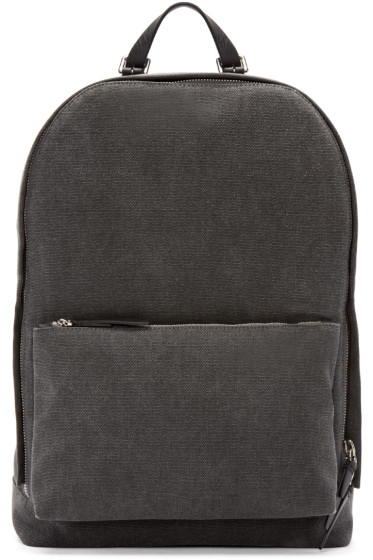 3.1 Phillip Lim - Grey Canvas 31 Hour Backpack
