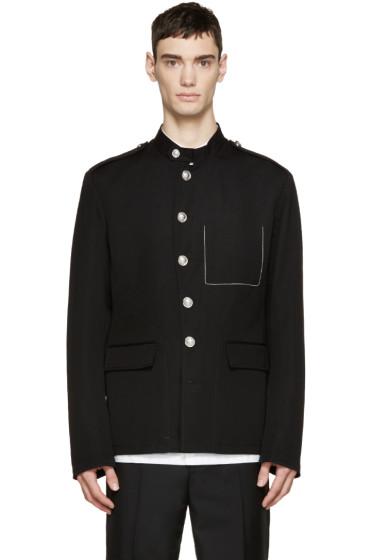 3.1 Phillip Lim - Black Twill Cadet Jacket