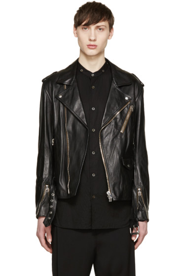 3.1 Phillip Lim - Black Leather Moto Jacket