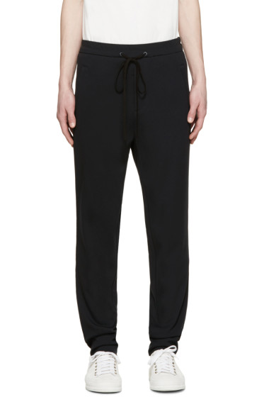 3.1 Phillip Lim - Black Embroidered Lounge Pants