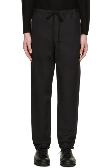 3.1 Phillip Lim - Black Drawstring Trousers