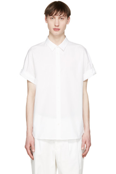 3.1 Phillip Lim - White Poplin Fisherman Shirt