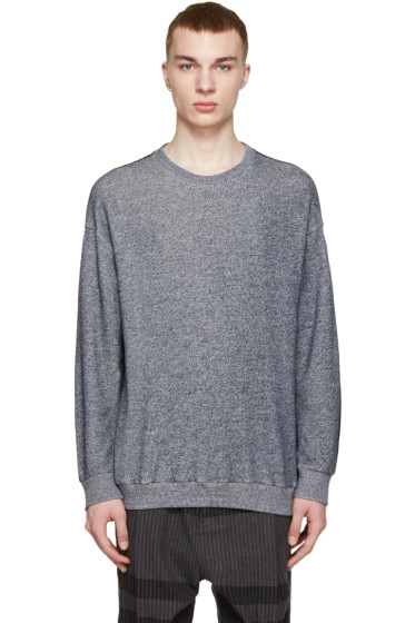 3.1 Phillip Lim - Navy Contrasting Pullover
