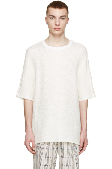 3.1 Phillip Lim - Cream Dolman Sleeve Pullover