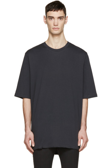 3.1 Phillip Lim - Black Extra Long T-Shirt