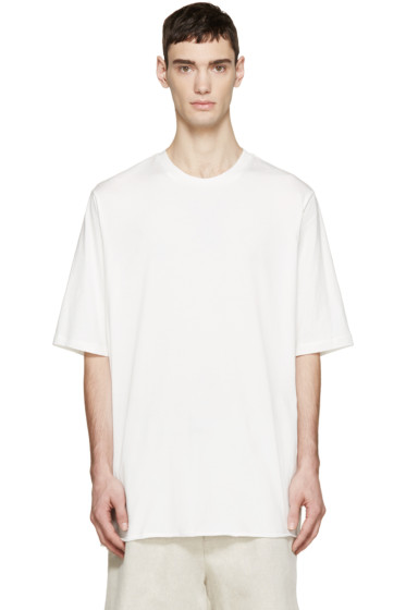 3.1 Phillip Lim - White Extra Long T-Shirt