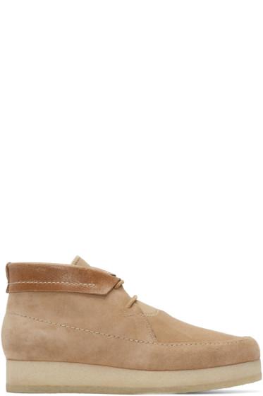 3.1 Phillip Lim - Beige Suede Merika Boots