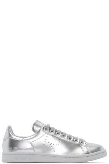 Raf Simons - Silver Metallic Stan Smith adidas by RAF SIMONS Sneakers