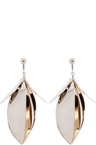Proenza Schouler - Gold & Silver Leaf Earrings