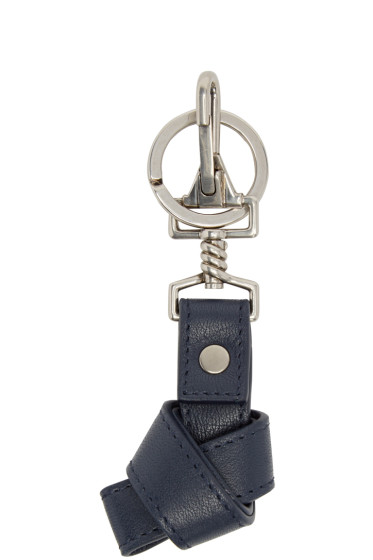 Proenza Schouler - Navy Leather PS1 Keychain