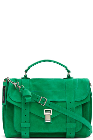 Proenza Schouler - Green PS1 Medium Satchel