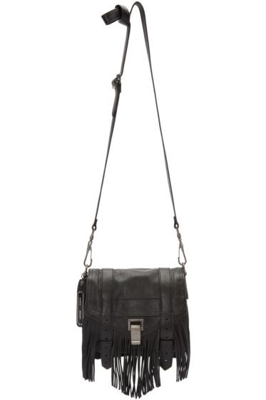 Proenza Schouler - Black PS1 Fringe Pouch Bag
