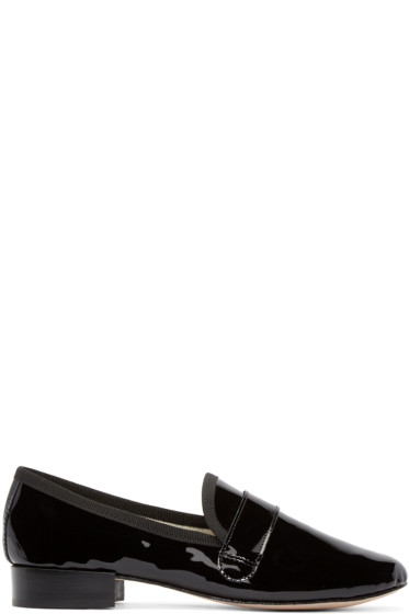Repetto - Black Patent Leather Michael Loafers