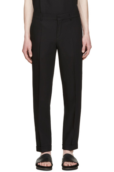 Carven - Black Pin Dot Trousers