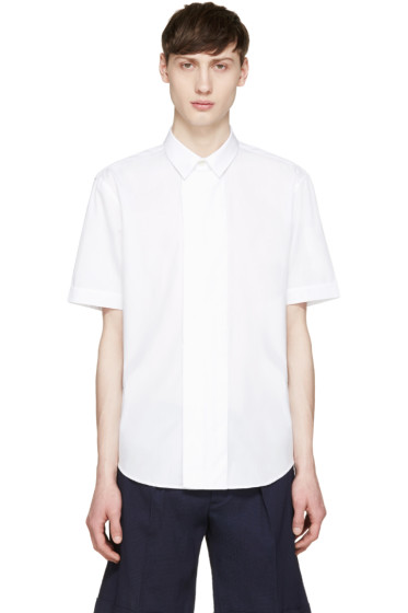 Carven - White Short Sleeve Shirt