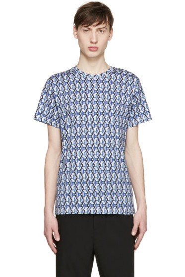 Carven - Multicolor Wavy Print T-Shirt