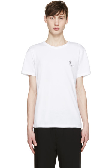 Carven - White Shadow Logo T-Shirt