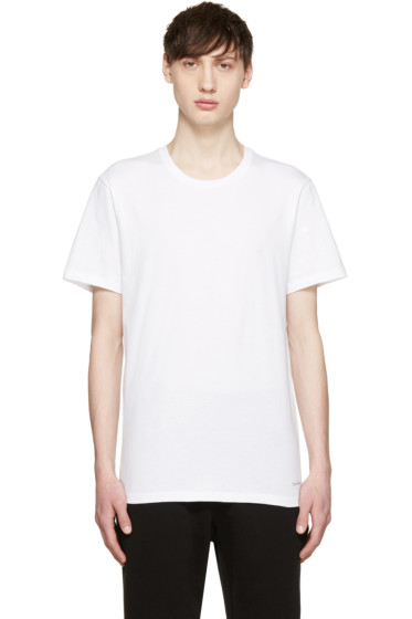 Calvin Klein Underwear - White Crewneck T-Shirt Three-Pack