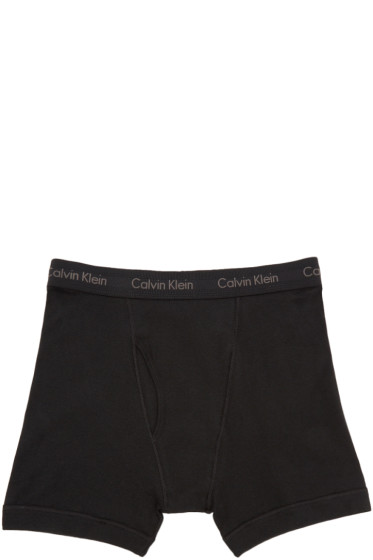 Calvin Klein Underwear - Black Boxer Short 3-Pack