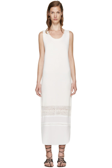 Chloé - Cream Wool & Silk Dress