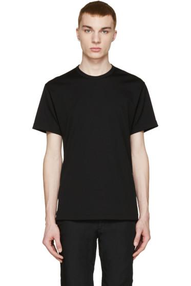 Comme des Garçons Homme Plus - Black Back Slit T-Shirt